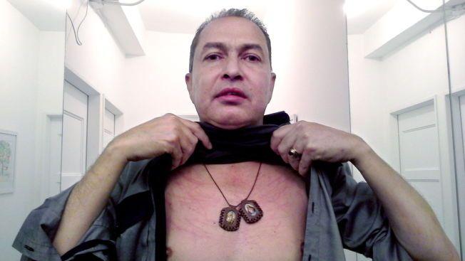 – BLE SLÅTT: Opposisjonspolitikeren Richard Blanco (50) hevder han ble slått i forbindelse med at ordføreren ble arrestert.