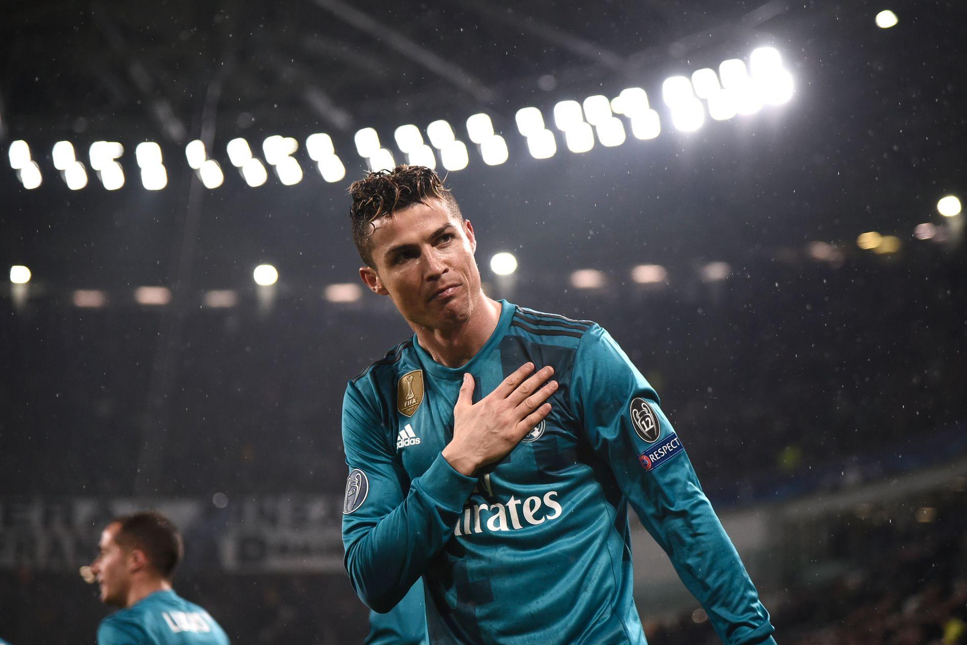 MÅLKONGE: Cristiano Ronaldo rakk å score 451 (!) mål på sine ni år i Madrid. Tre av dem kom da han sendte Juventus ut av Champions League i vår.