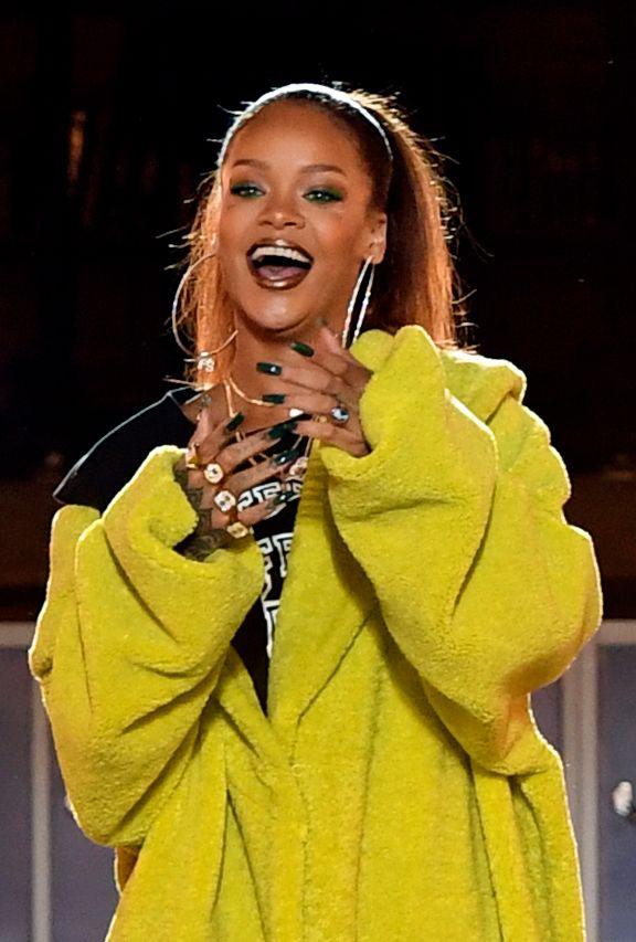 HYRET WALKER: Rihanna. Foto: AFP