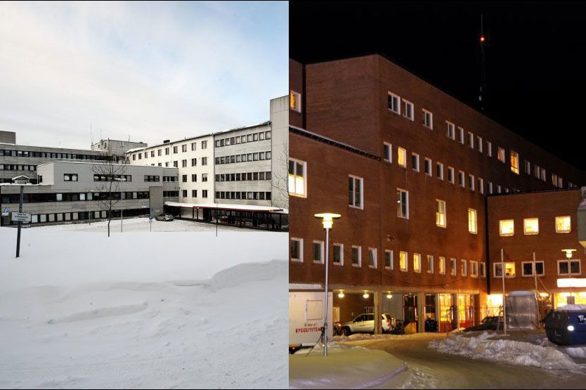 FÅR PREMIE: Sykehuset i Finmark og sykehuset i Tromsø er blant dem som kan få økonomisk belønning dersom de får færre fristbrudd. Foto: Rune Stoltz Bertinussen / Scanpix/BJØRN ERIK RYGG LUNDE