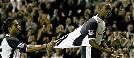 NY STJERNE: Jermain Defoe tilhører den nye generasjonen Premier League-stjerner. Foto: EPA