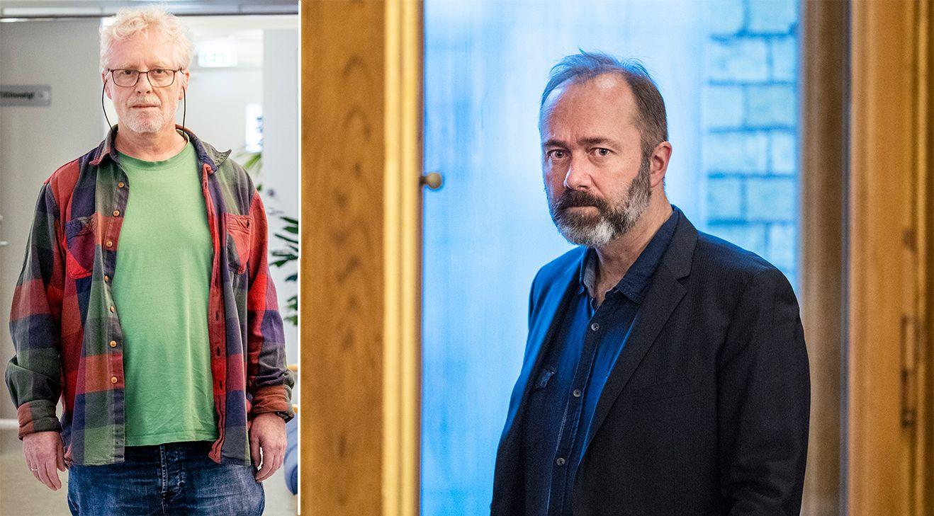 BEKYMRET: Nestleder Knut Sandli i Fagforbundet Sykehus og helse Oslo, her ved sitt kontor på Ullevål sykehus.