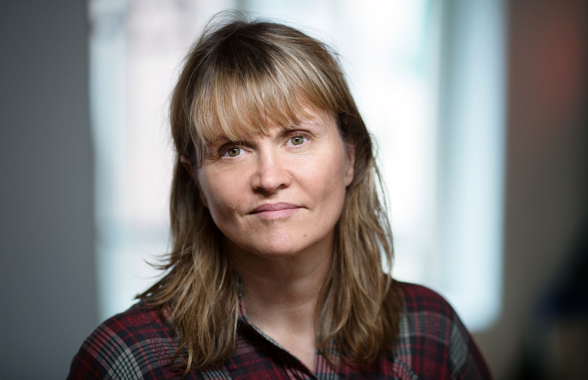 EN AV HØSTENS BESTE: Nina Lykke (51) har truffet blink med sin tredje roman «Nei og atter nei».