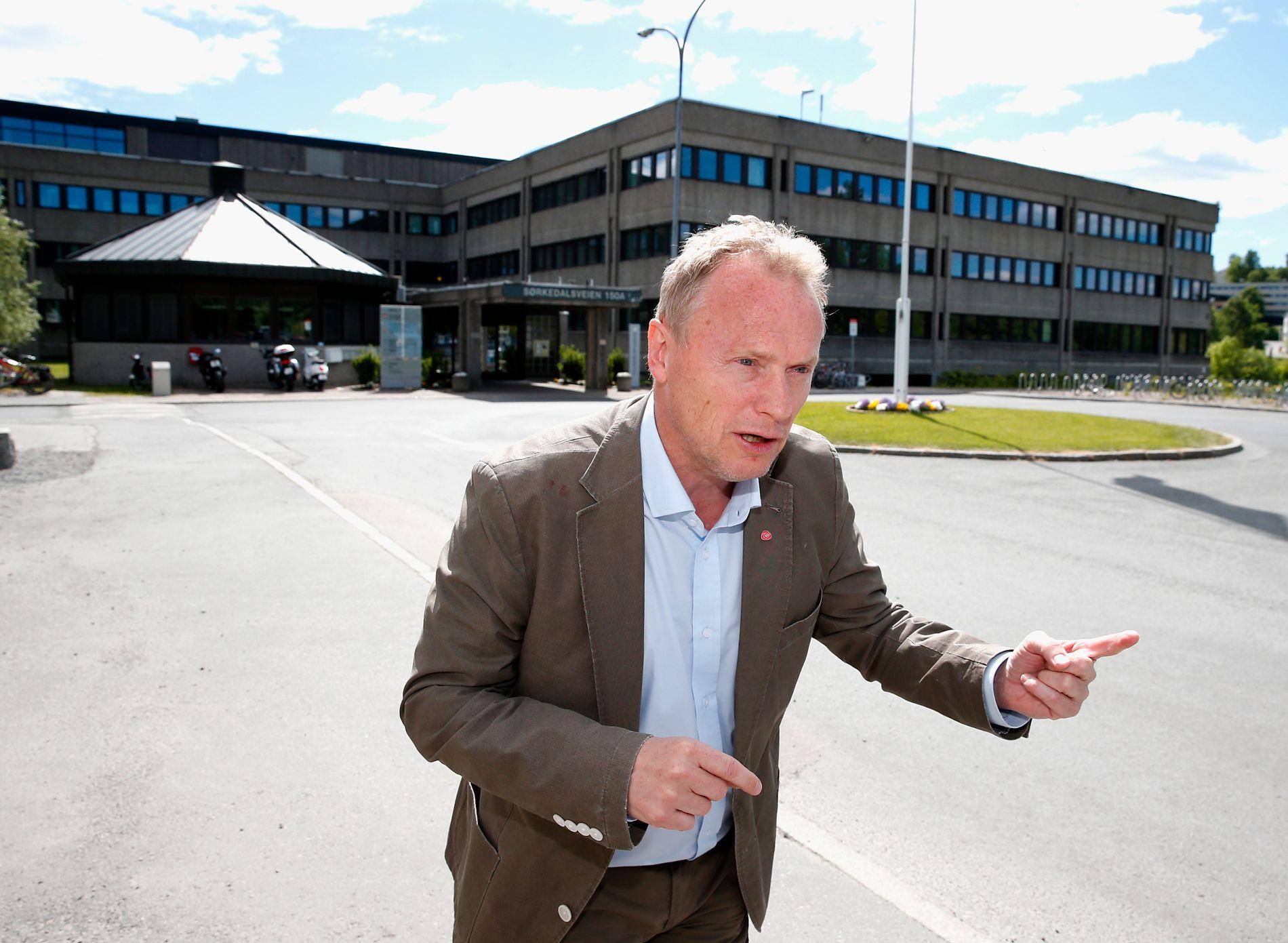 VIL BYGGE MER: Byrådsleder Raymond Johansen (Ap) gikk til valg på å doble boligbyggingen.