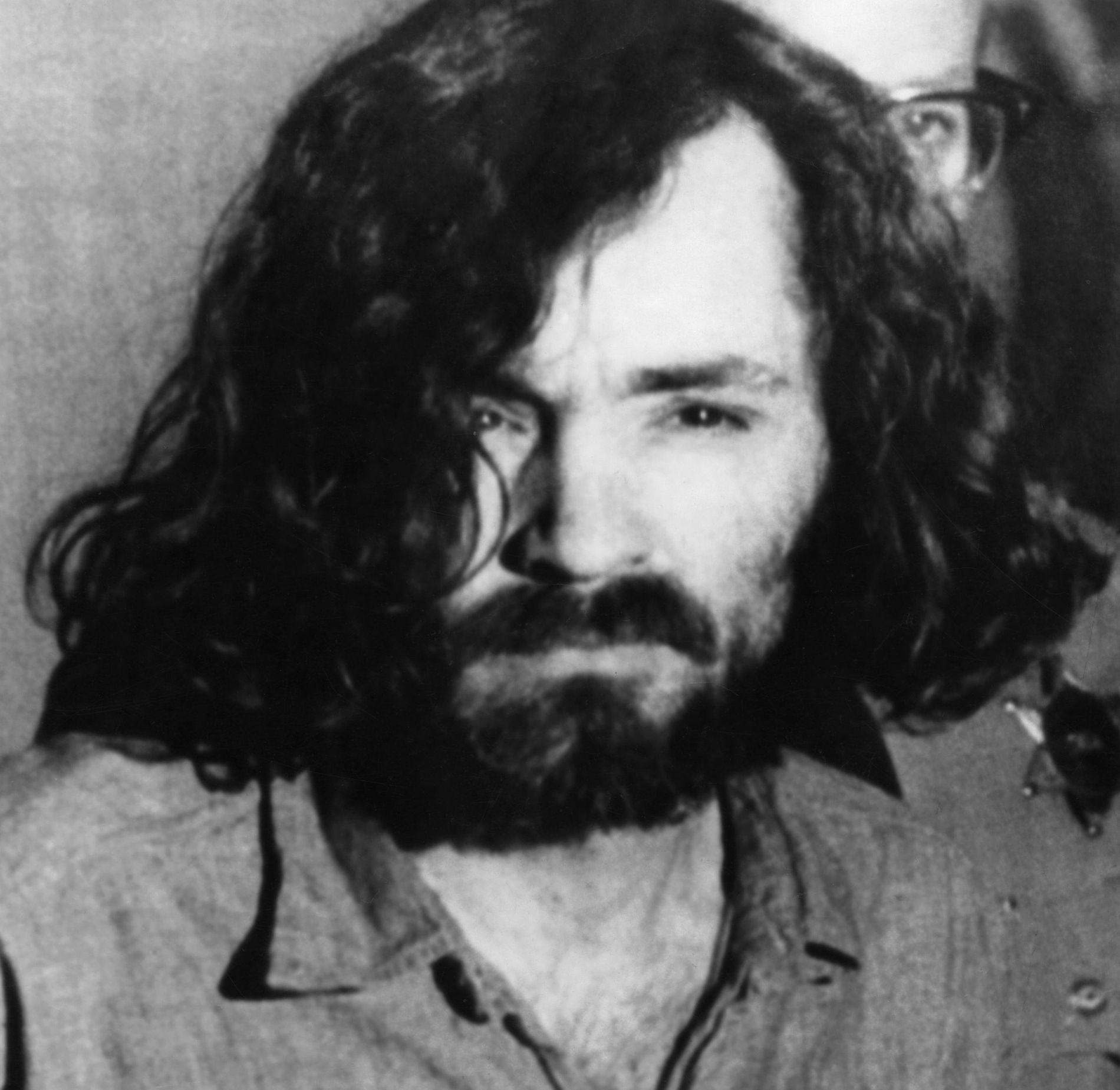 FØR: Charles Manson i 1970.