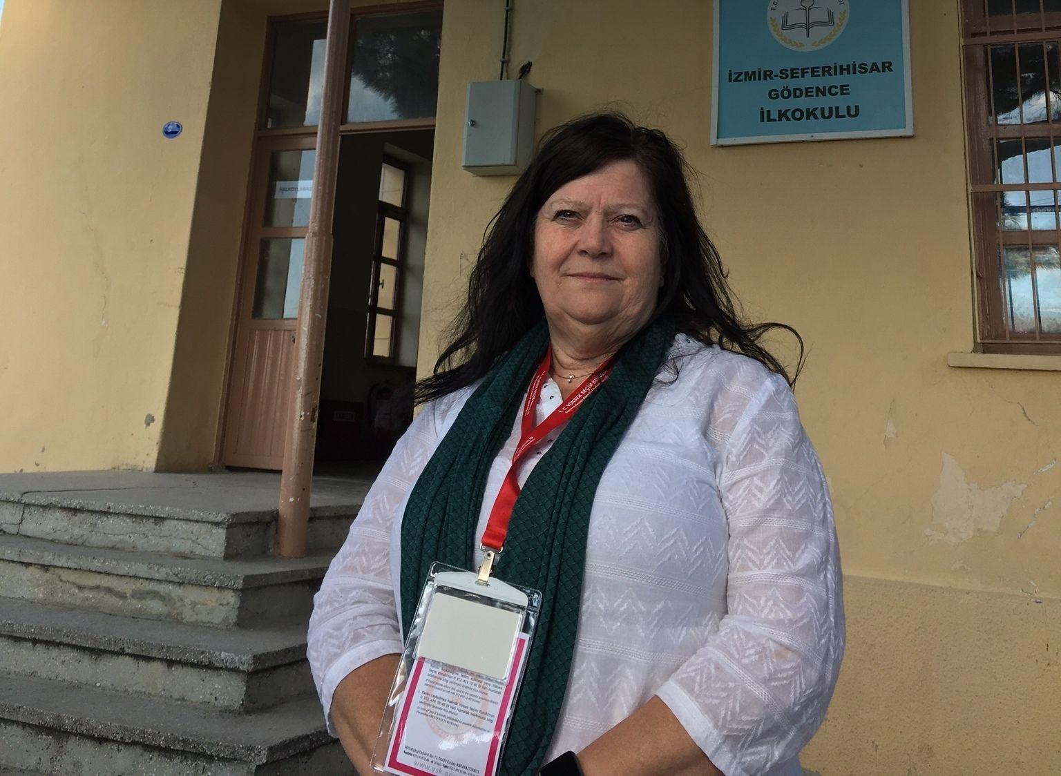 VAR OBSERVATØR: Ingebjørg Godskesen under oppdraget som valgobservatør i Tyrkia.