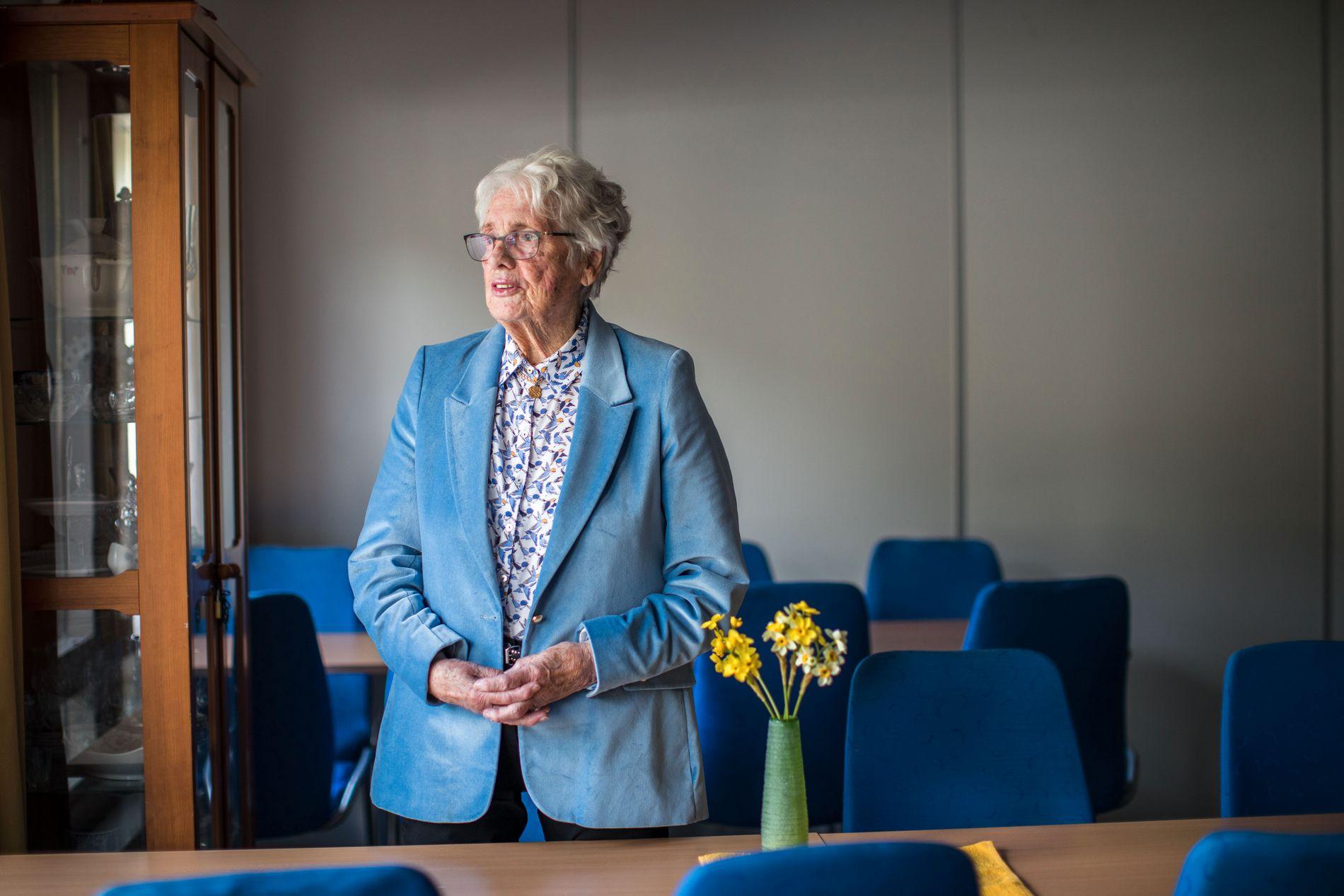 REAGERER: – Om du er 80 år er du ikke mindre verdt som menneske, sier leder av Eldrerådet i Bergen, Inger Johanne Knudsen.