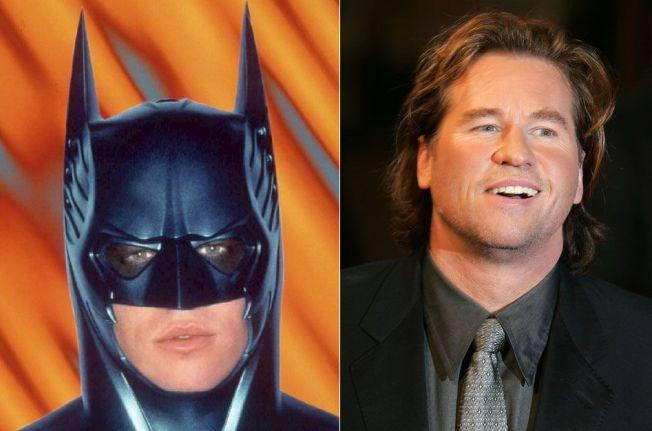 STORE ROLLER: Val Kilmer har for alltid sikret seg en plass i filmhistorien, blant etter å ha portrettert Batman på film.