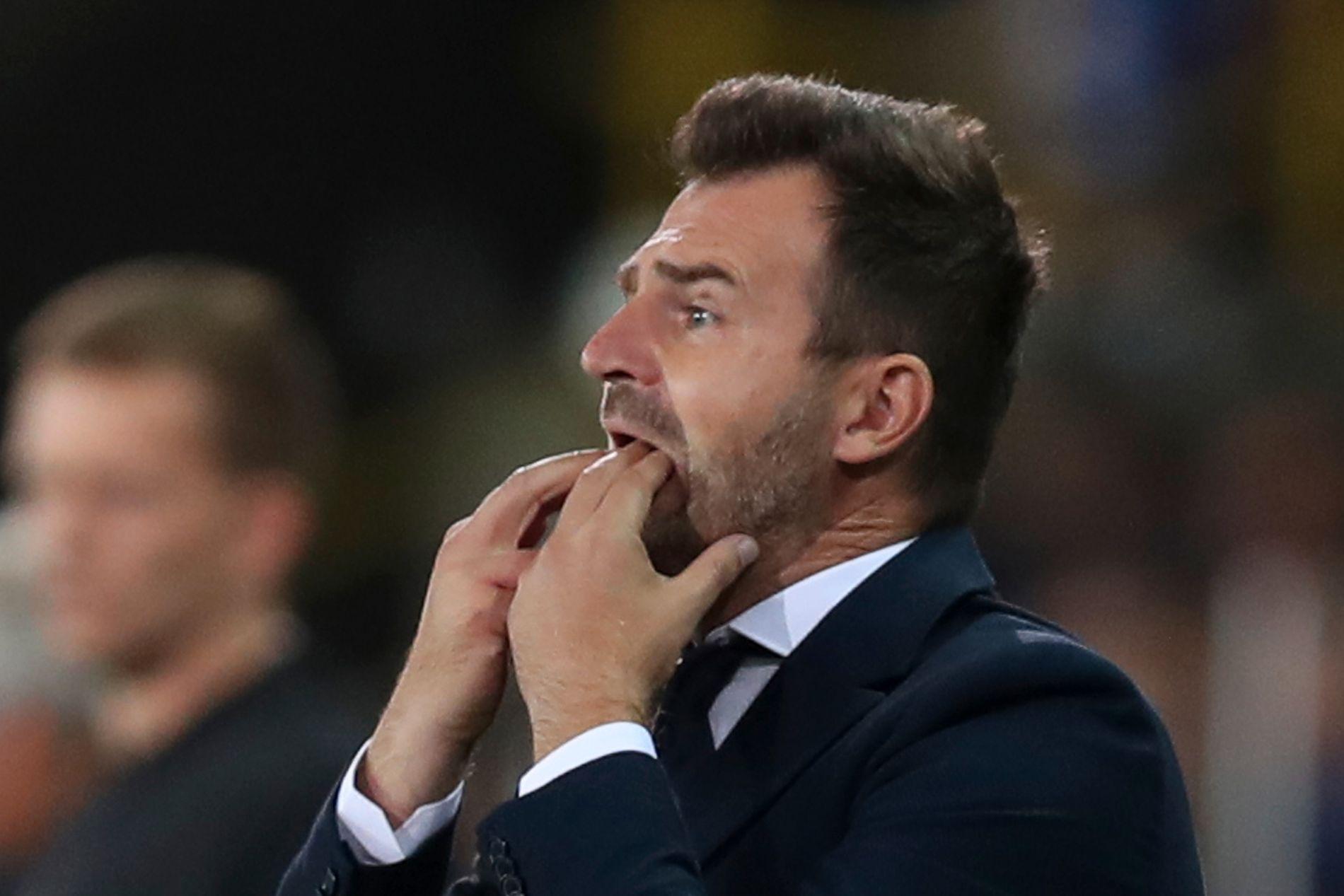 Club Brugge-trener Ivan Leko må i avhør hos påtalemyndigheten i forbindelse med mistanker om kampfiksing og juks med spilleroverganger i belgisk fotball. Foto: AP Photo / Francisco Seco / NTB scanpix.