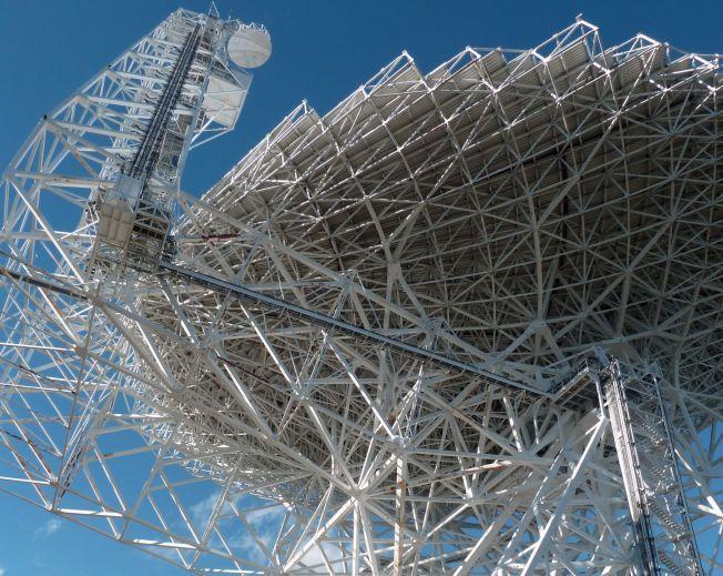 SKAL LYTTE ETTER UTENOMJORDISK LIV: Et av teleskopene forskerne vil bruke, er Green Bank-teleskopet i Virginia i USA, som er et av verdens kraftigste og mest avanserte.