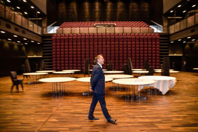 DELTAR IGJEN: Ordfører Ivar Vigdenes (31) synes det er prisverdig at kronprinsen arrangerer en konferanse for unge ledere og talenter.