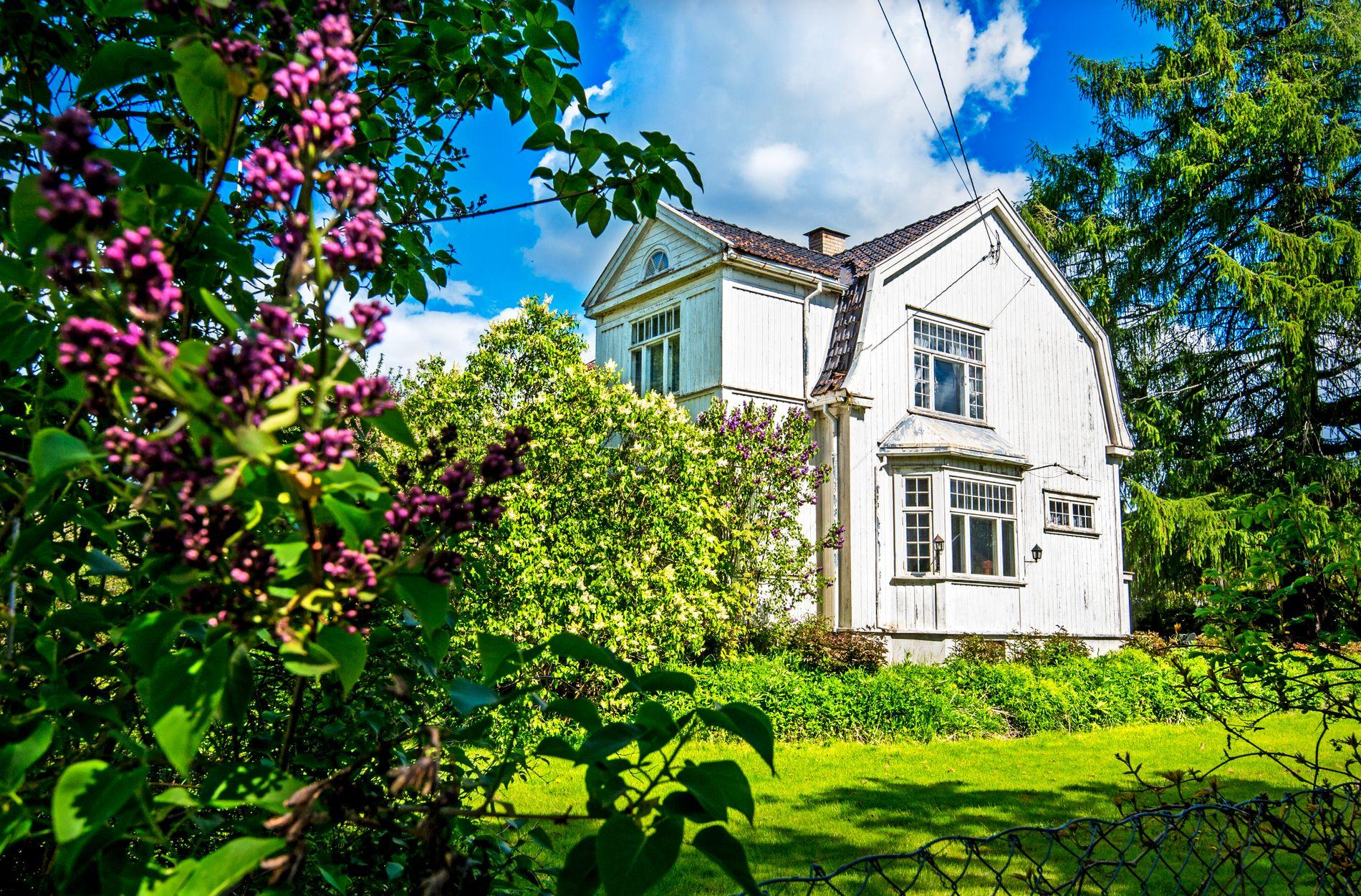 VILLAEN: Tone Damli og Markus Foss kjøpte dette huset i 2015