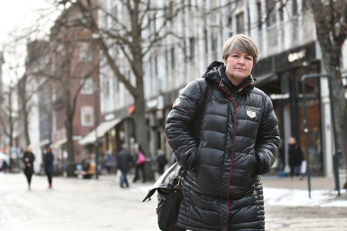 GA SEG: Trine Reitan var med i valgkomiteen som onsdag innstilte Trond Giske til et nytt verv i Trøndelag Ap. Men hun var egentlig imot at han skulle få ny tillit nå.