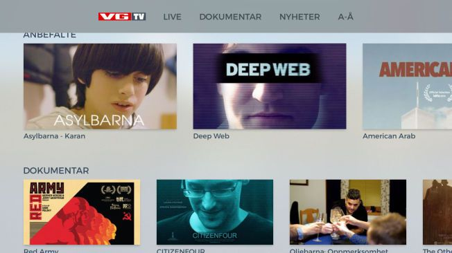 'APPY CHRISTMAS: VG lanserer nye apper - VGTV er nå tilgjengelig på den nyeste utgaven av Apple TV