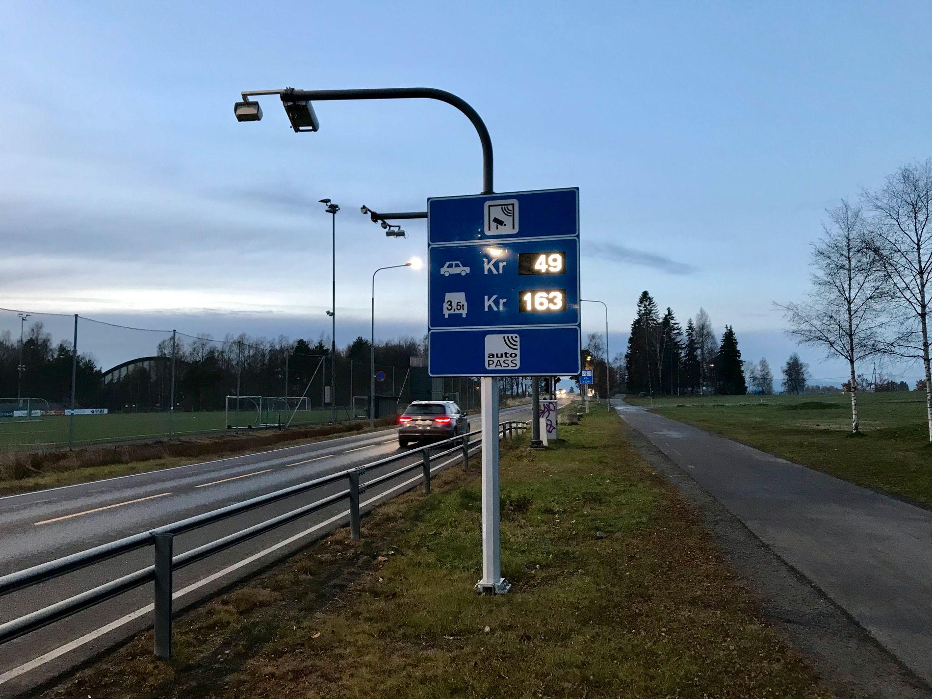 OPP, OPP, OPP: Det kan bli svært dyrt å kjøre inn i Oslo på dager med høy forurensning.