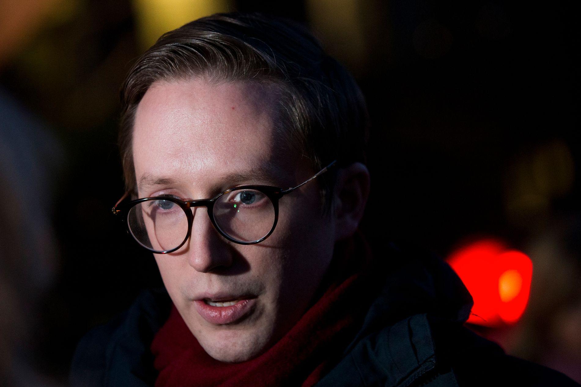 PLAGER PARTIFELLEN: Førstekandidat fra Hedmark Høyre og Unge Høyre-leder Kristian Tonning Riise mener Barneombudet og ikke fylkesmennene bør være klageinstans i mobbesaker.