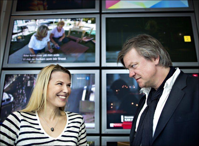 TIL TV 2: Alex Rosén og Vibeke Klemetsen blir nye programledere for «Nabolaget», den nye storsatsingen til TV 2 og Norsk Tipping. Foto: Fredrik Solstad/VG