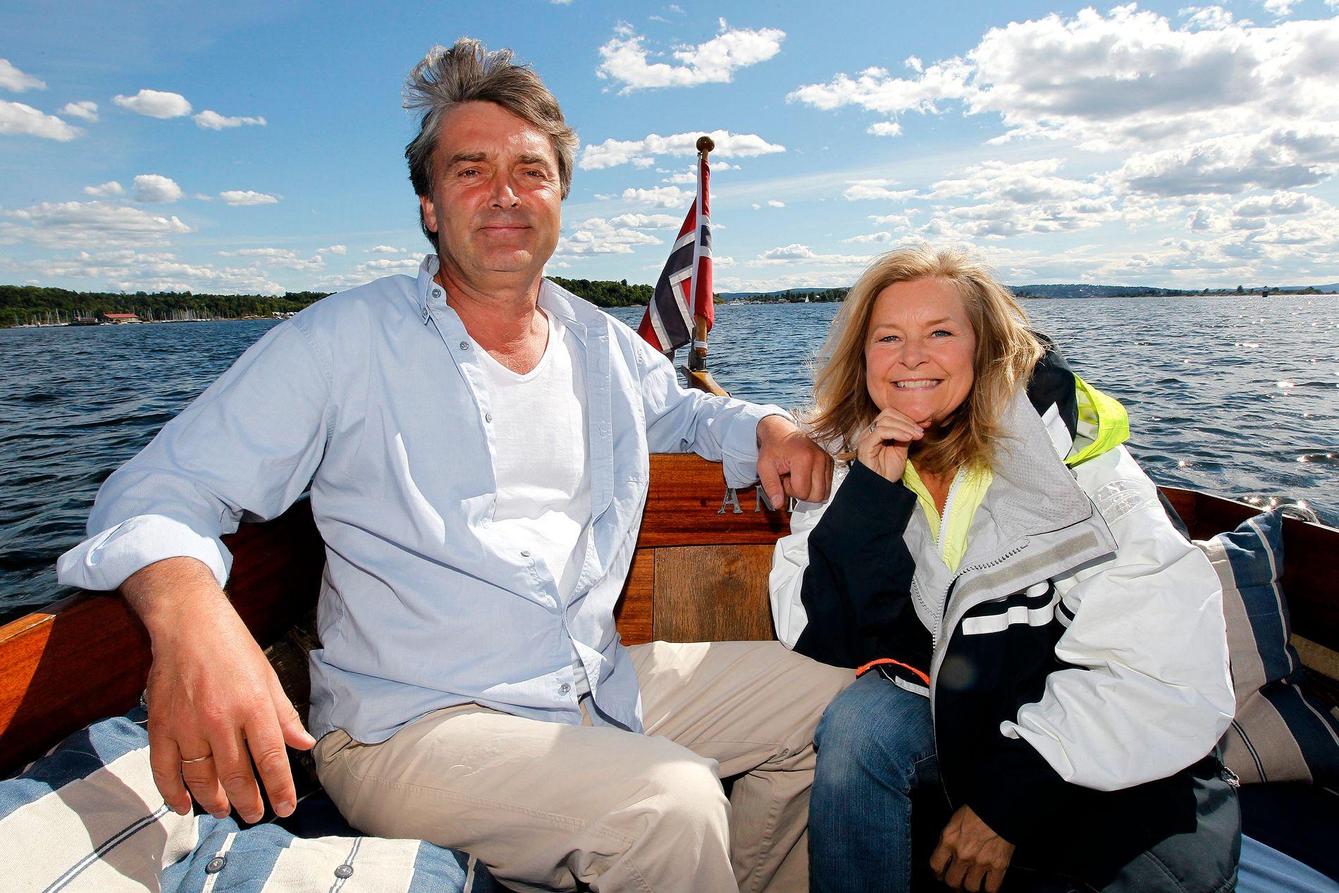 EKTEPAR: Tor og Elisabeth Andreassen, her i 2012. Foto: TROND SOLBERG
