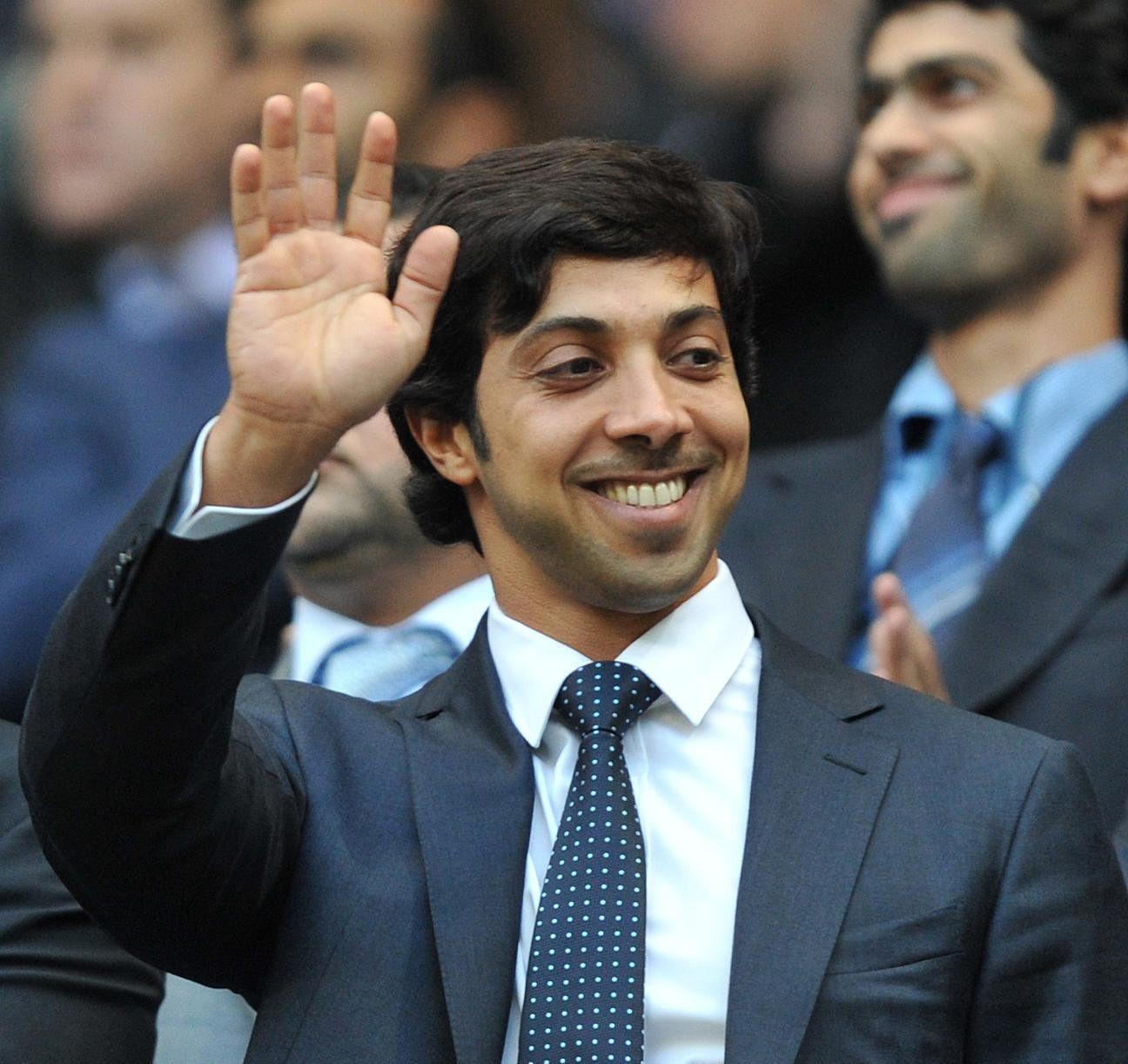 CITY-EIER: Sheikh Mansour bin Zayed styrer Manchester City fra Abu Dhabi. Dette bildet er fra 2010.