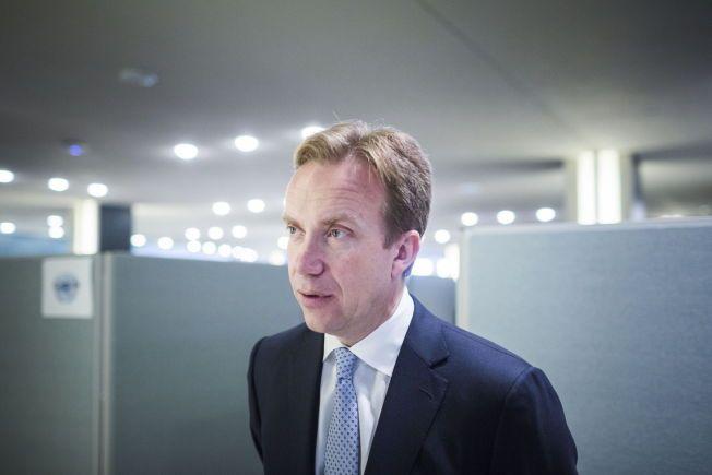 HOVEDPRIORITET: Utenriksminister Børge Brende fremholder at kampen mot dødsstraff er en av hovedprioriteringene i Norges menneskerettighetspolitikk.