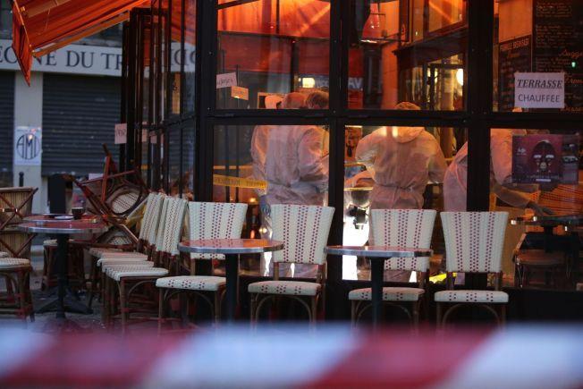 COMPTOIR VOLTAIRE: Ibrahim Abdeslam skal stå bak angrepet mot restauranten Boulevard Voltaire.