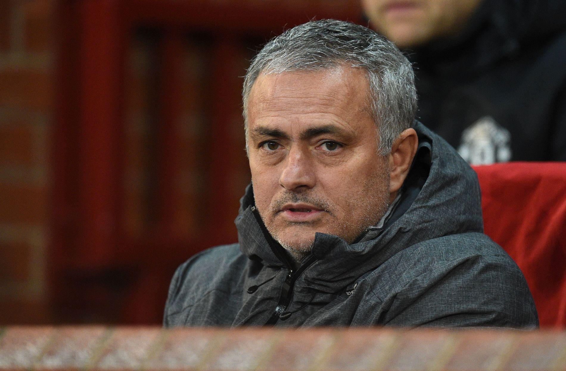 FÅR KRITIKK: Manchester United-manager José Mourinho har måttet tåle mye kritikk etter håndteringen av 2-1-tapet mot Manchester City i helgen.