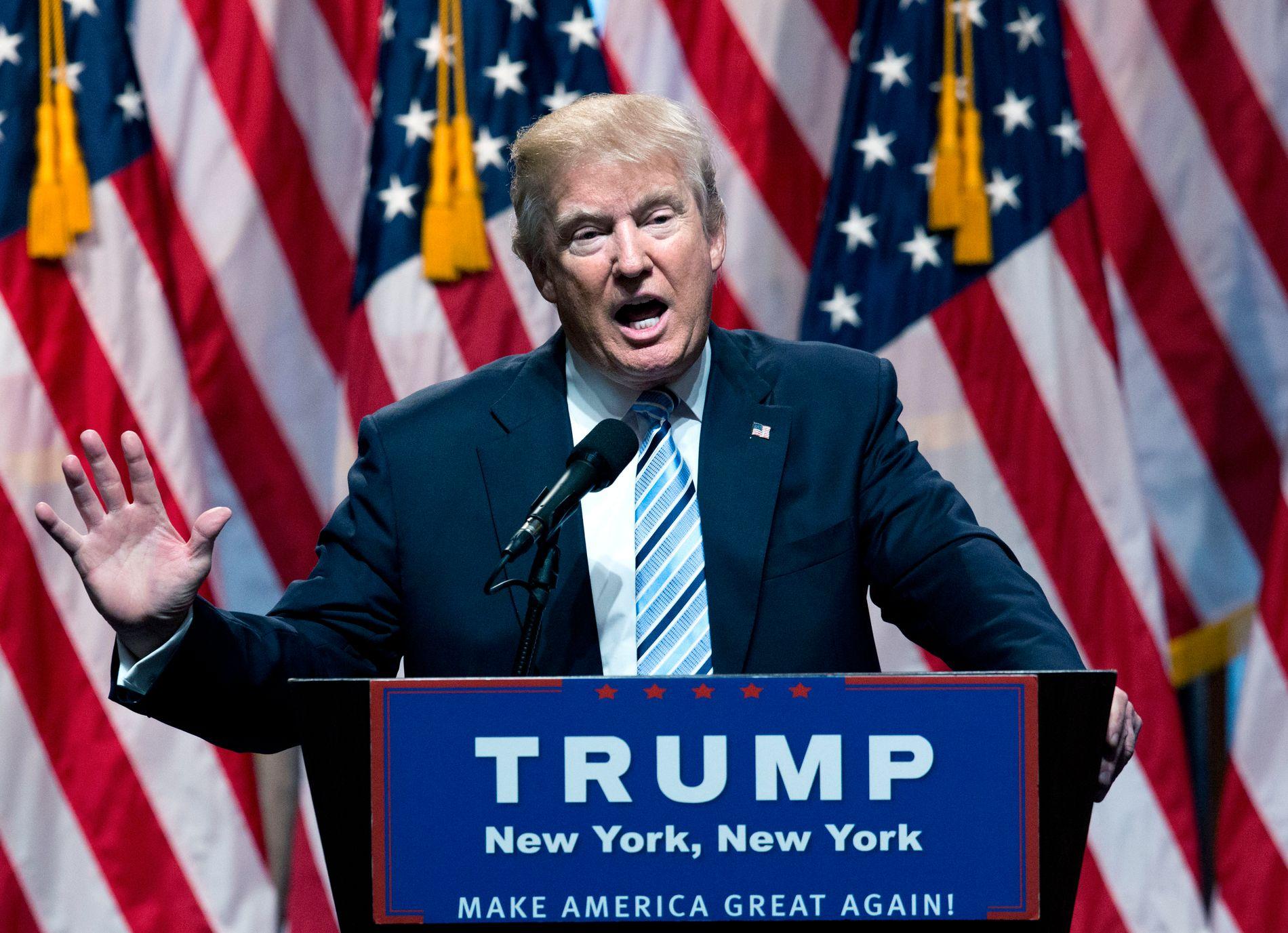 OPPMØTE: En rekke av republikanernes aller mest kjente politikere de siste tiårene dropper landsmøtet der Donald Trump skal velges til presidentkandidat.