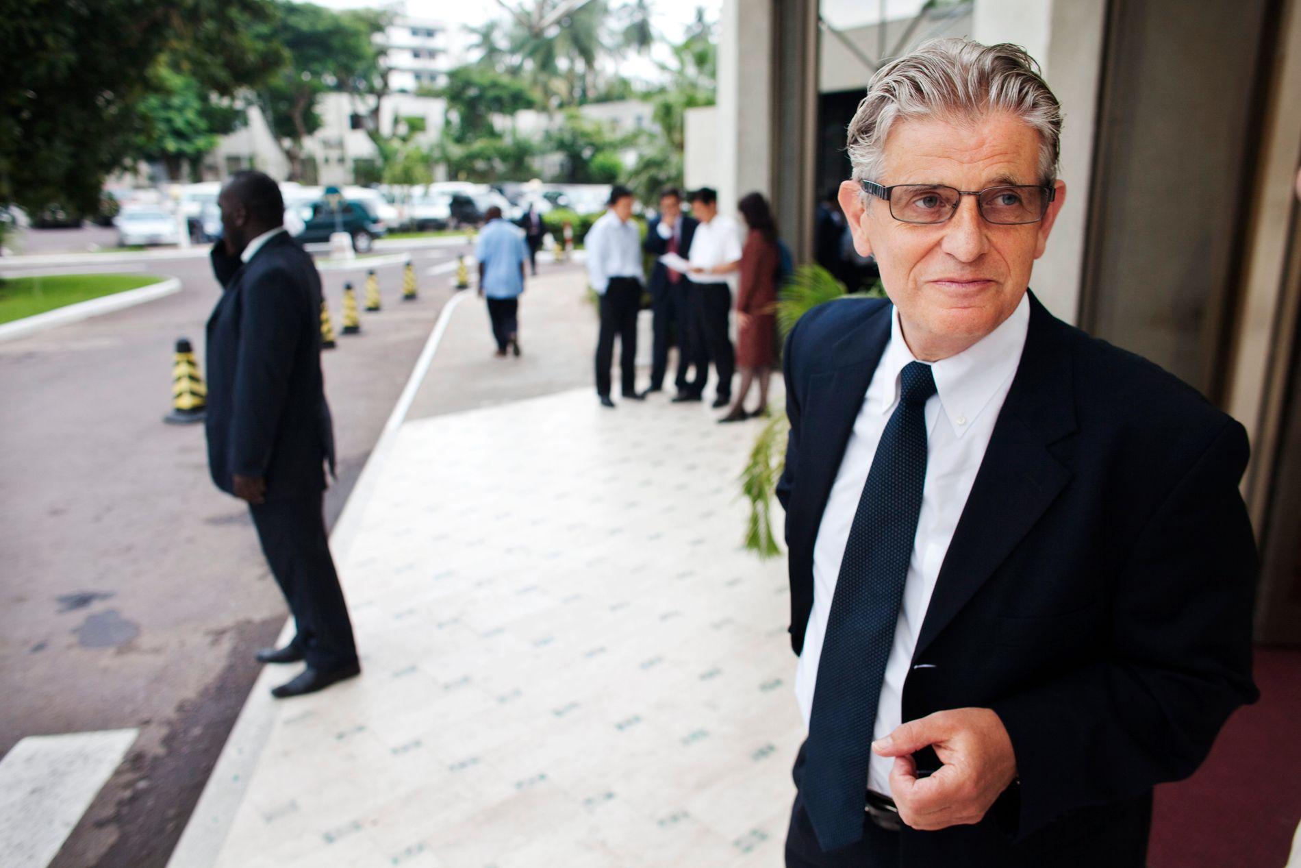 SPESIALUTSENDING: Arild Øyen var en viktig bidragsyter i å få Joshua French løslatt. Her i Kongo i 2009.