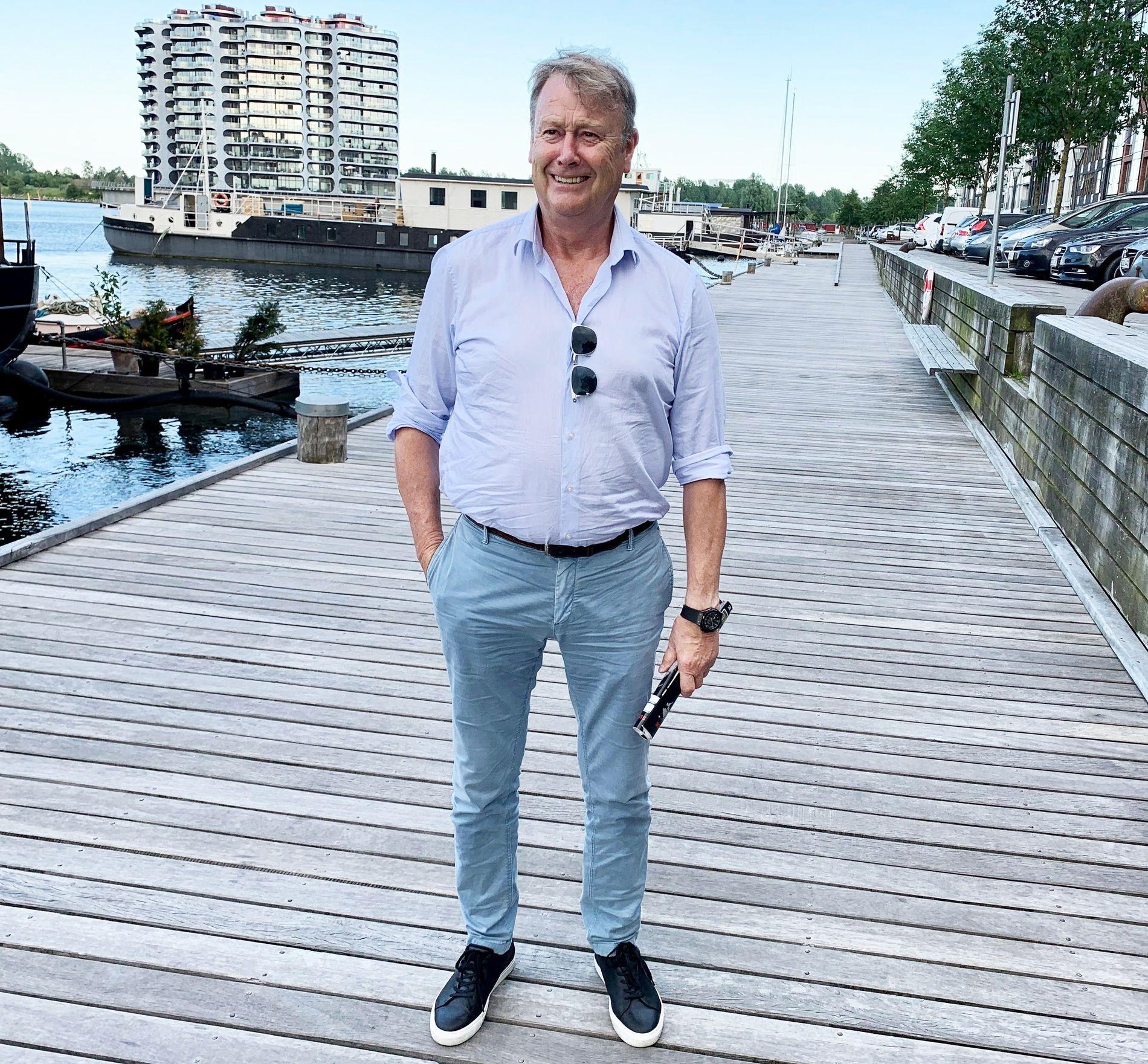 HJEMME: Her, i Sydhavnen i København, bor Åge Hareide. – Maks hundre dager i året, men det er veldig godt å ha et fast sted å bo, sier den danske landslagssjefen.