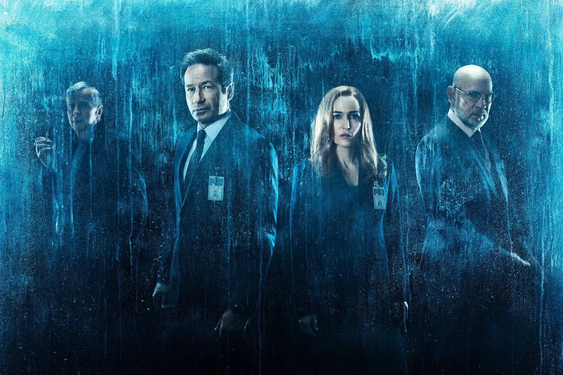 VENDER TILBAKE: Mulder og Scully er tilbake i sin 11. sesong som spesialagenter.