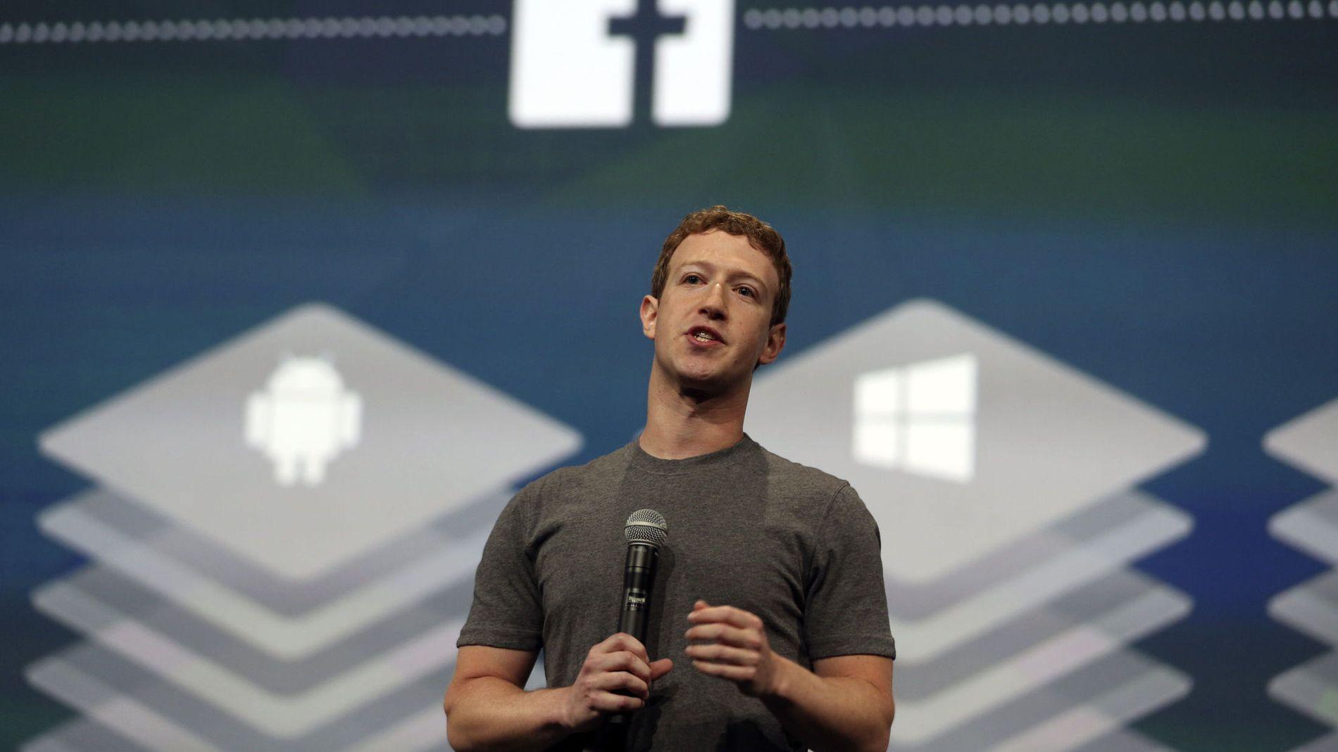 PÅ RETT VEI: Facebook-sjef Mark Zuckerberg leverte gode tall for tredje kvartal.