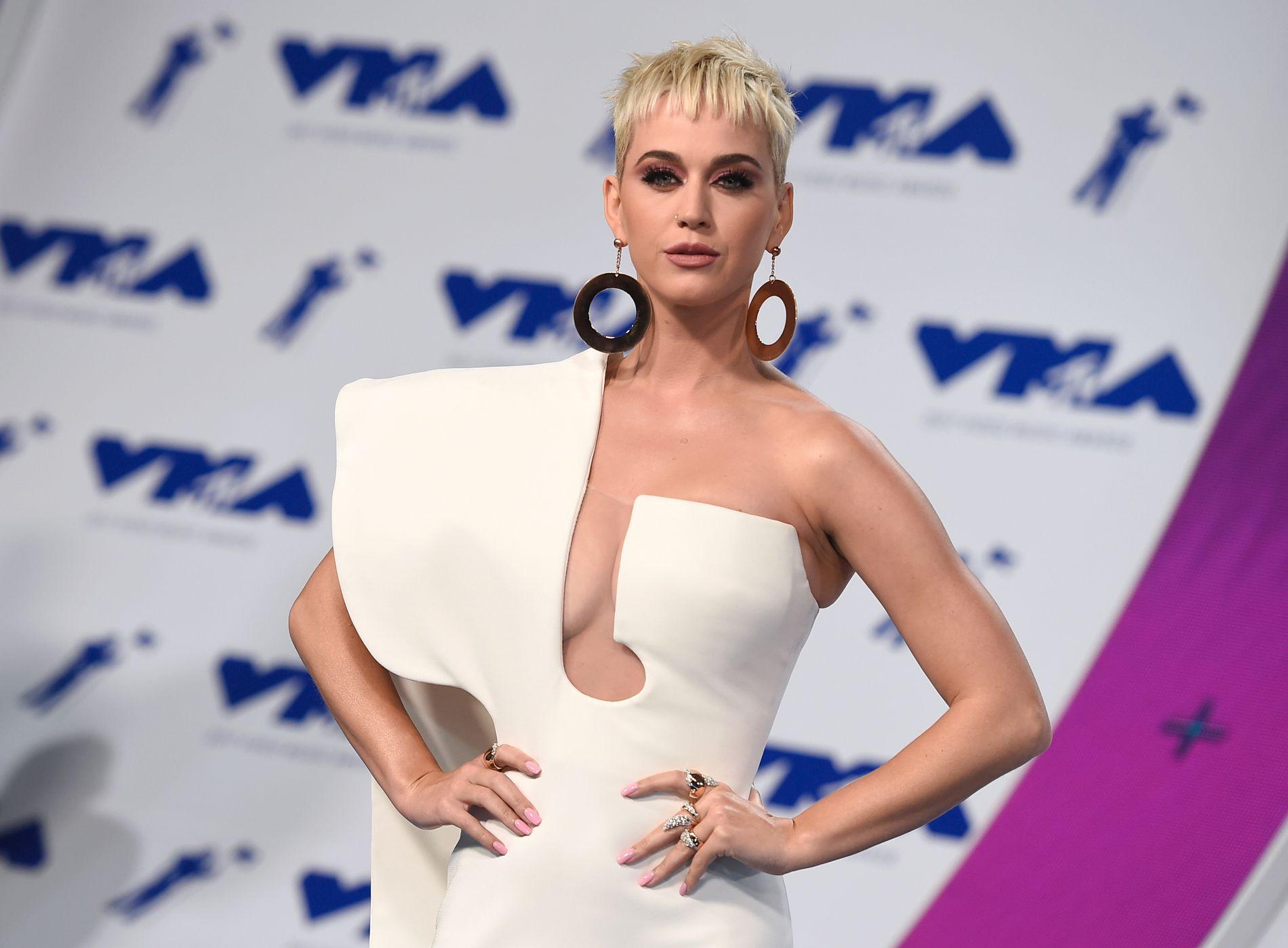 MOTSTANDER: Katy Perry ønsket å kjøpe kloster-eiendommen i Los Feliz. Her er hun på MTV Video Music Awards i august.