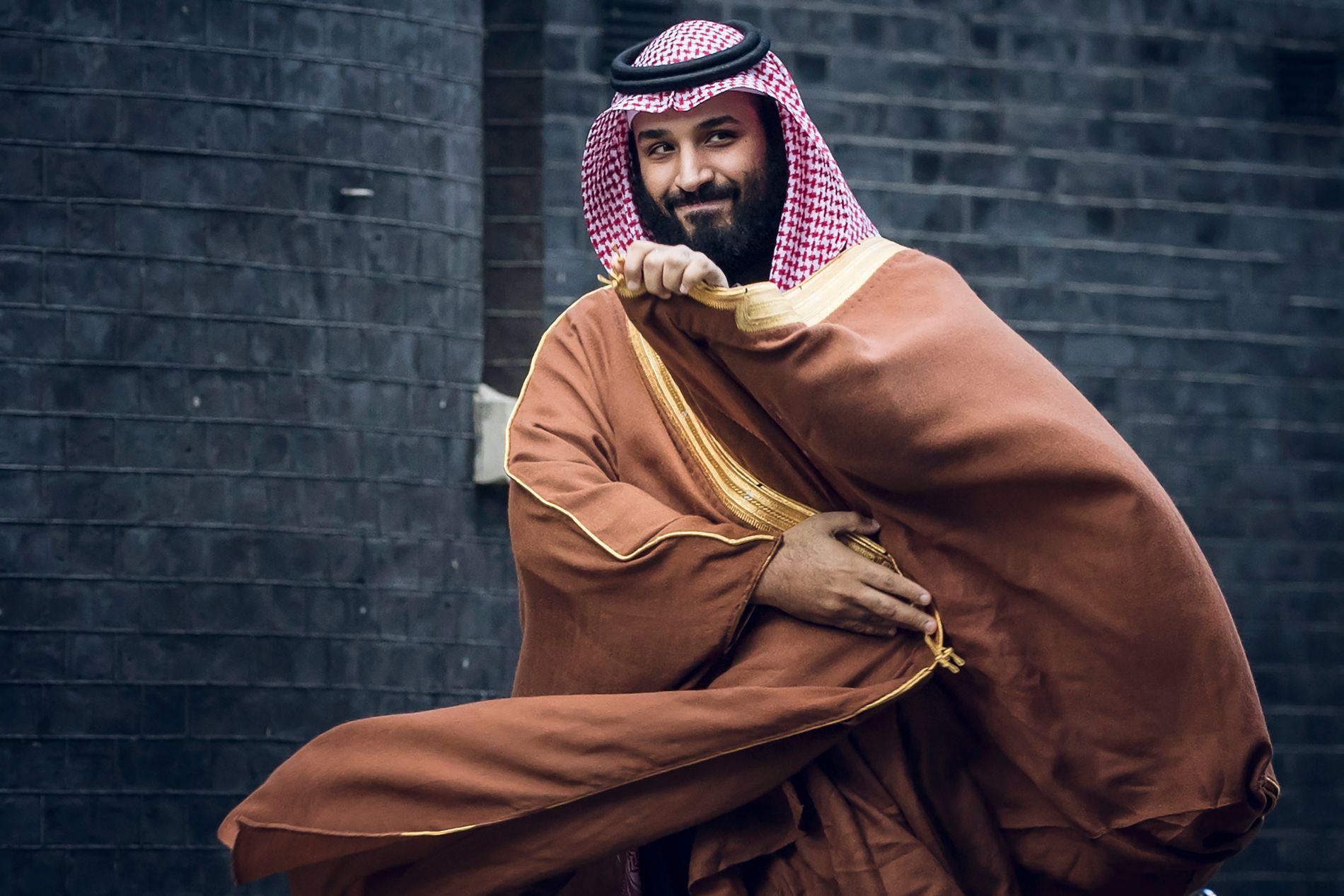 LOVET REFORM: Kronprins Mohammed Bin Salman under et besøk i London tidligere i år.
