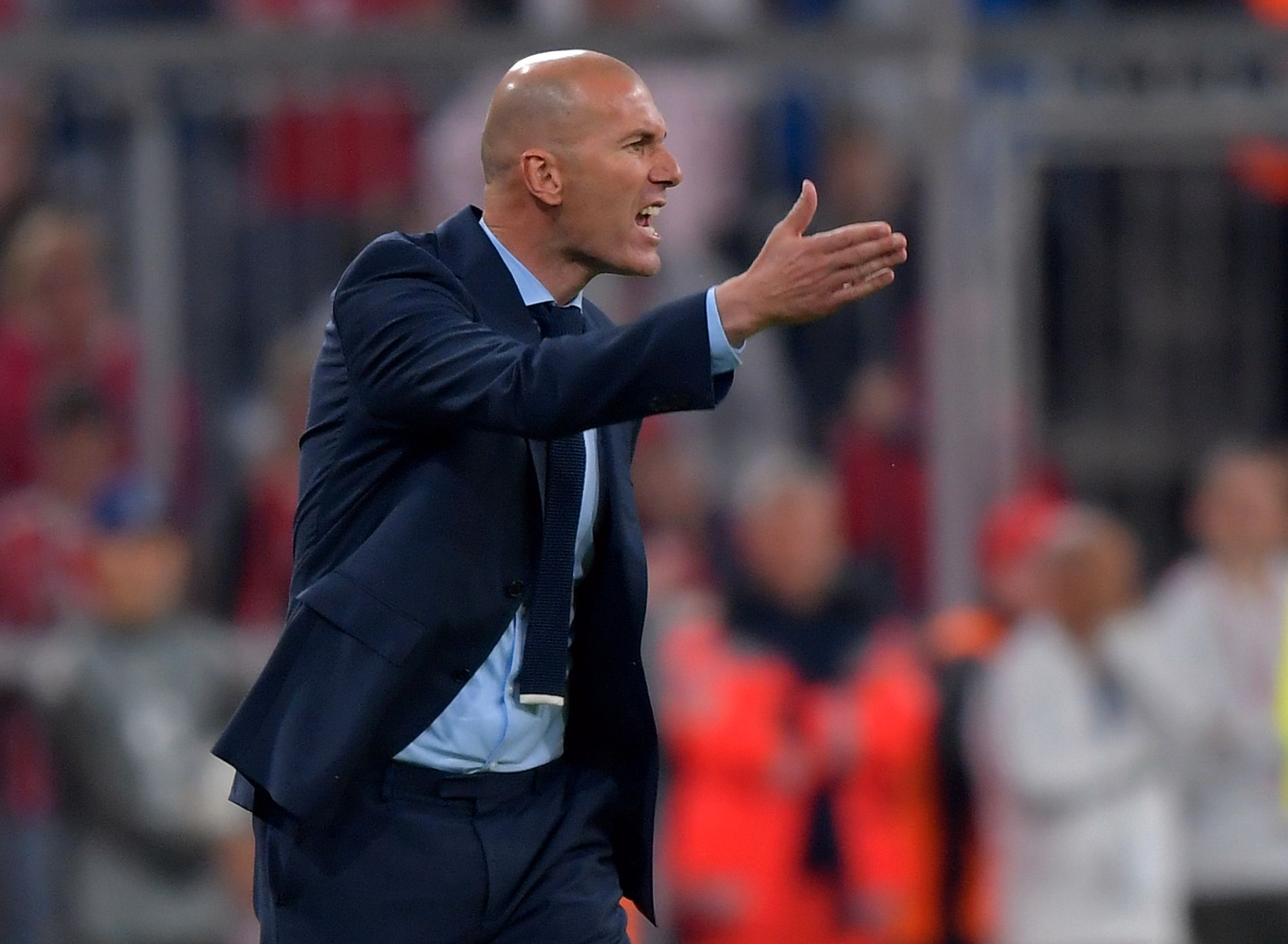 SJEF: Real Madrid-manager Zinedine Zidane.