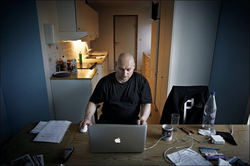 OPPGJØR: Pål Refsdal kommer i dag med bok om sitt liv som geriljareporter. Foto: Espen Sjølingstad Hoen