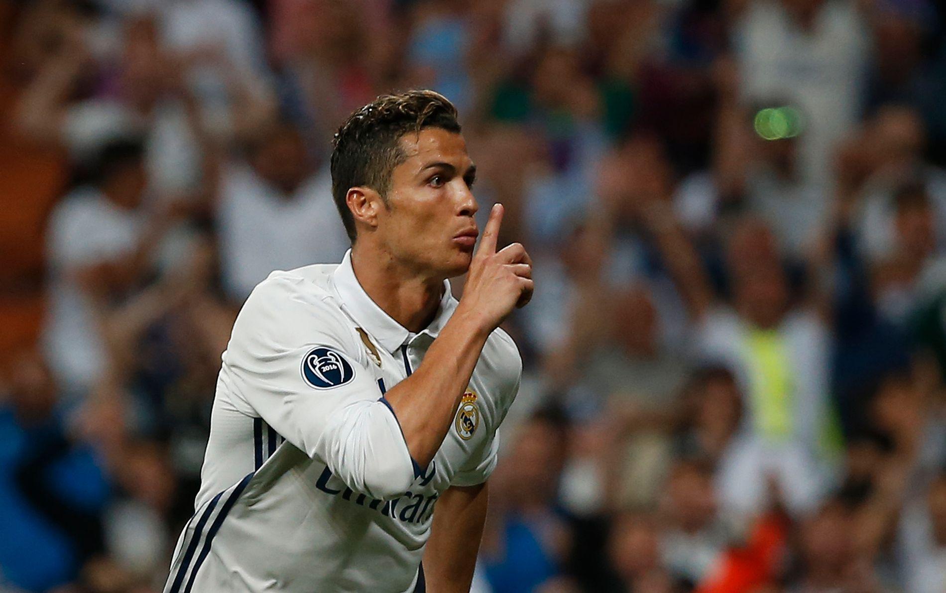 HYSJ: Cristiano Ronaldo måtte tåle at deler av Madrid-fansen buet på ham under Champions League-kvartfinalen mot Bayern.