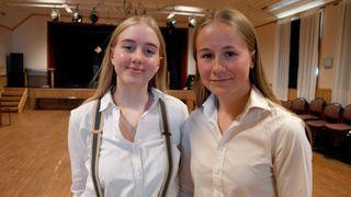 Astri og Hanna syns Frode er en helt fantastisk lærer.