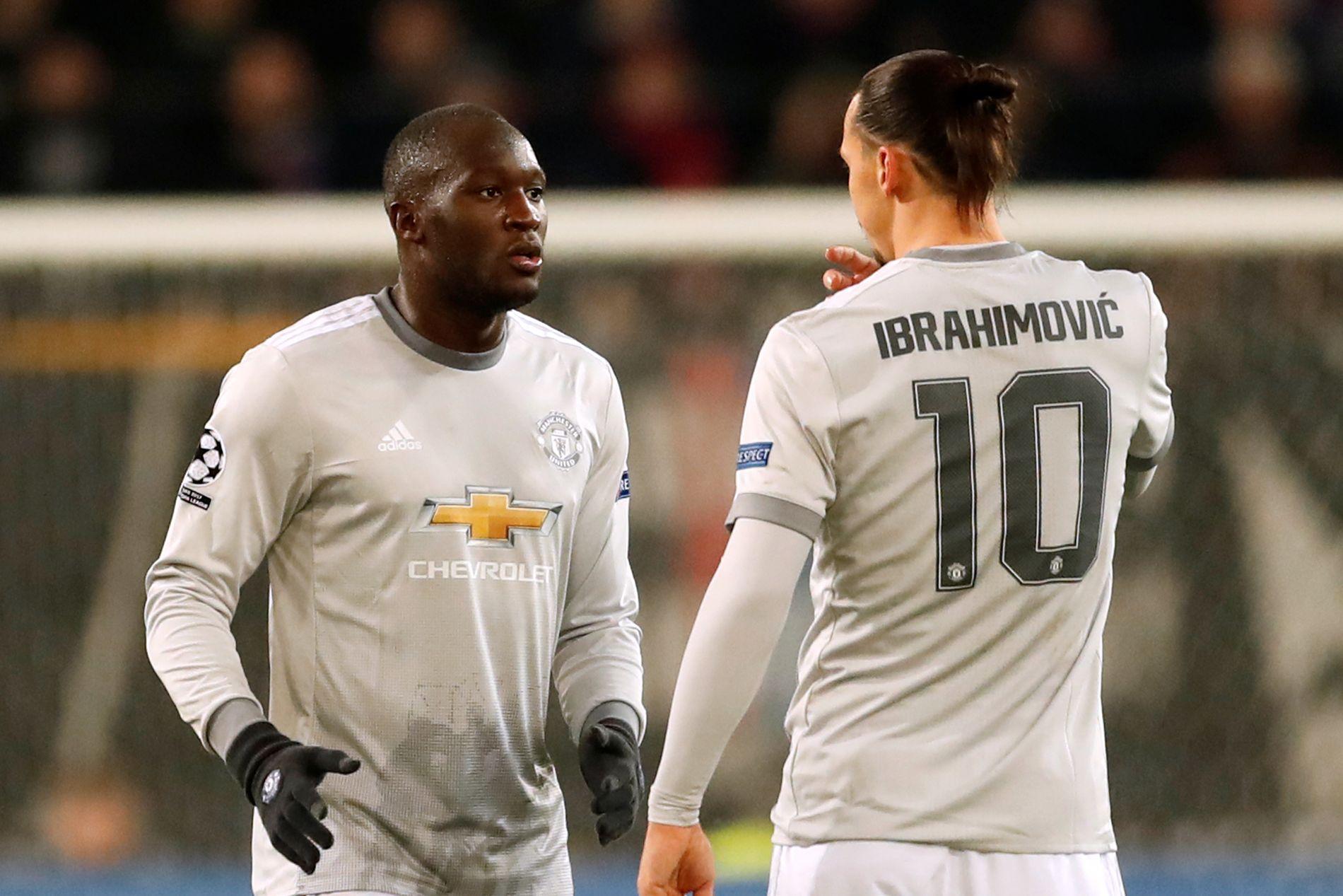 TOPPSPISSER: Romelu Lukaku og Zlatan Ibrahimovic har flere ganger vært på banen samtidig for Manchester United denne sesongen.