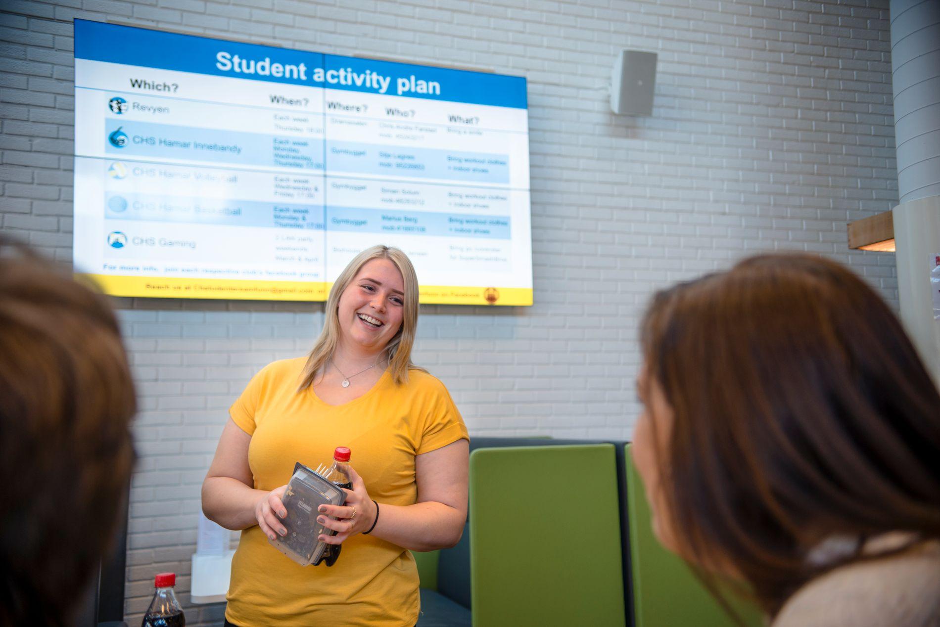 GODT VALG: Jobbmulighetene til grunnskolelærerstudent Ragnhild Snerle er veldig gode når hun er ferdig med utdanningen.