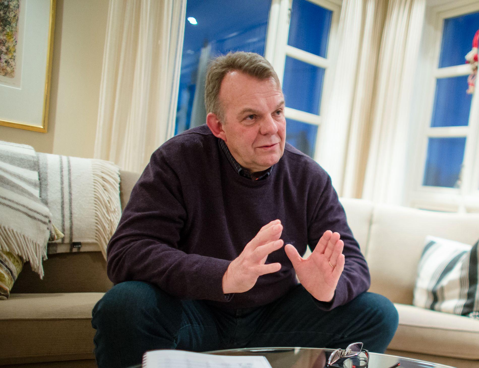 Styreleder og gründer i Freyr Torstein Dale Sjøtveit. Foto: Audun Braastad / NTB scanpix