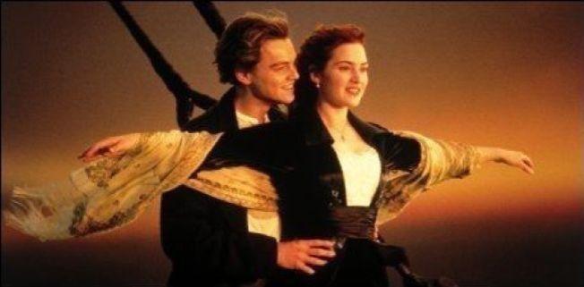 LEGENDARISK: Denne scenen med Kate Winslet og Leonardo DiCaprio er en av filmens mest kjente scener.