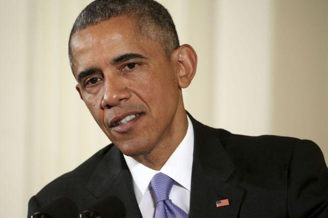 I MÅL: USAs President Barack Obama har klart å samle den støtten han trenger i Senatet for å unngå at Kongressen legger ned veto mot atomavtalen med Iran.