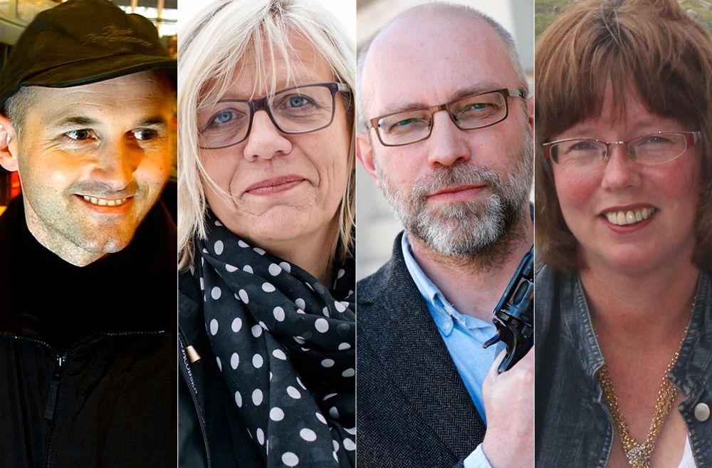 FORLATER VIGMOSTAD & BJØRKE: Knut Braa, Lene Lauritsen Kjølner, Gard Sveen og Monika Yndestad.