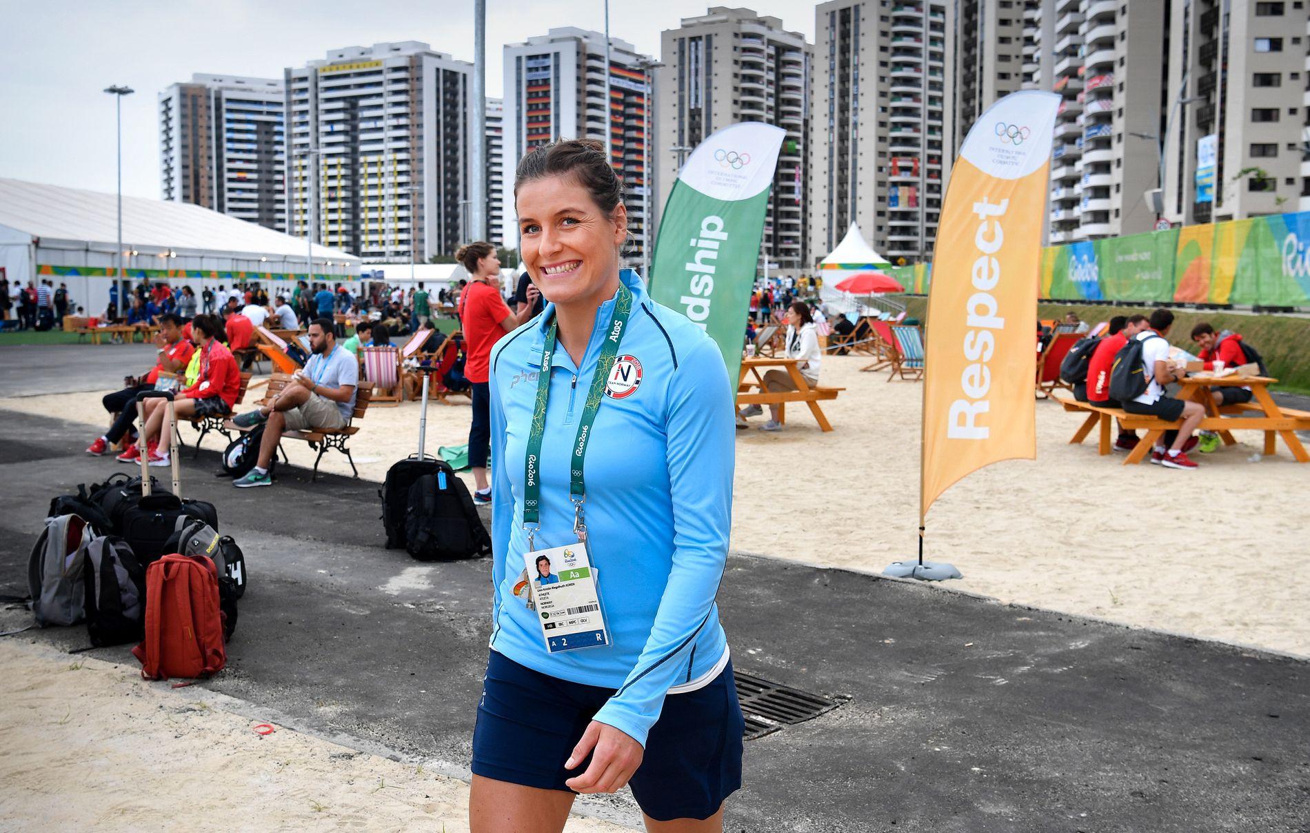 MISLYKTES: Linn-Kristin Riegelhuth Koren har åtte mesterskapsgull med Norge, men mislyktes under OL i august. Nå øser hun igjen inn mål for Larvik, men er vraket fra EM i desember.