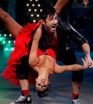 VAR PAR: Tommy Fredvang og Rakel Kristina Aalmo i «Skal Vi Danse» for fem år siden.