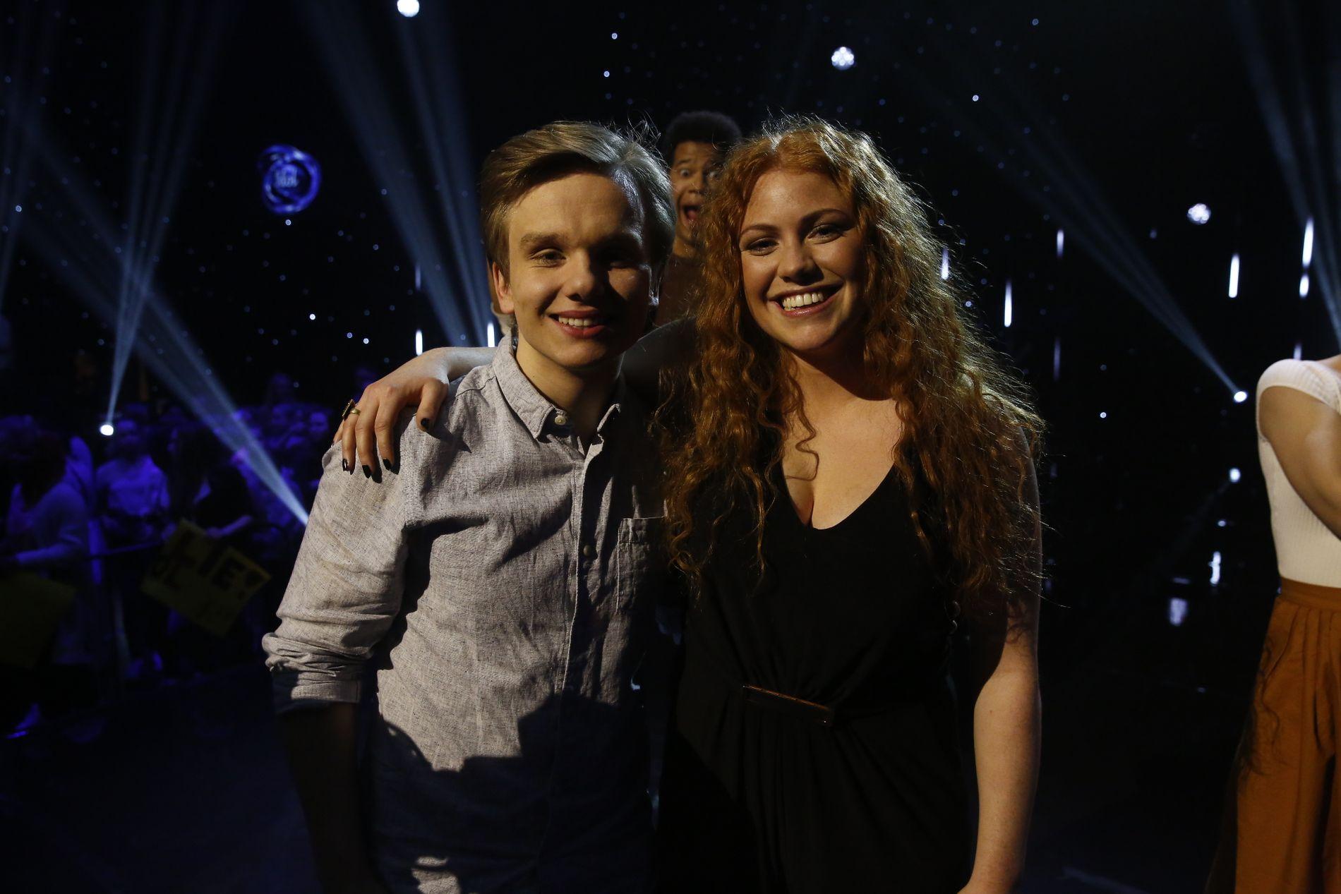 Ola Børde Reistad (17) fra Gausdal og Tessa Klokkerud Odden (17) fra Oslo er klare for «Idol»-finalen.