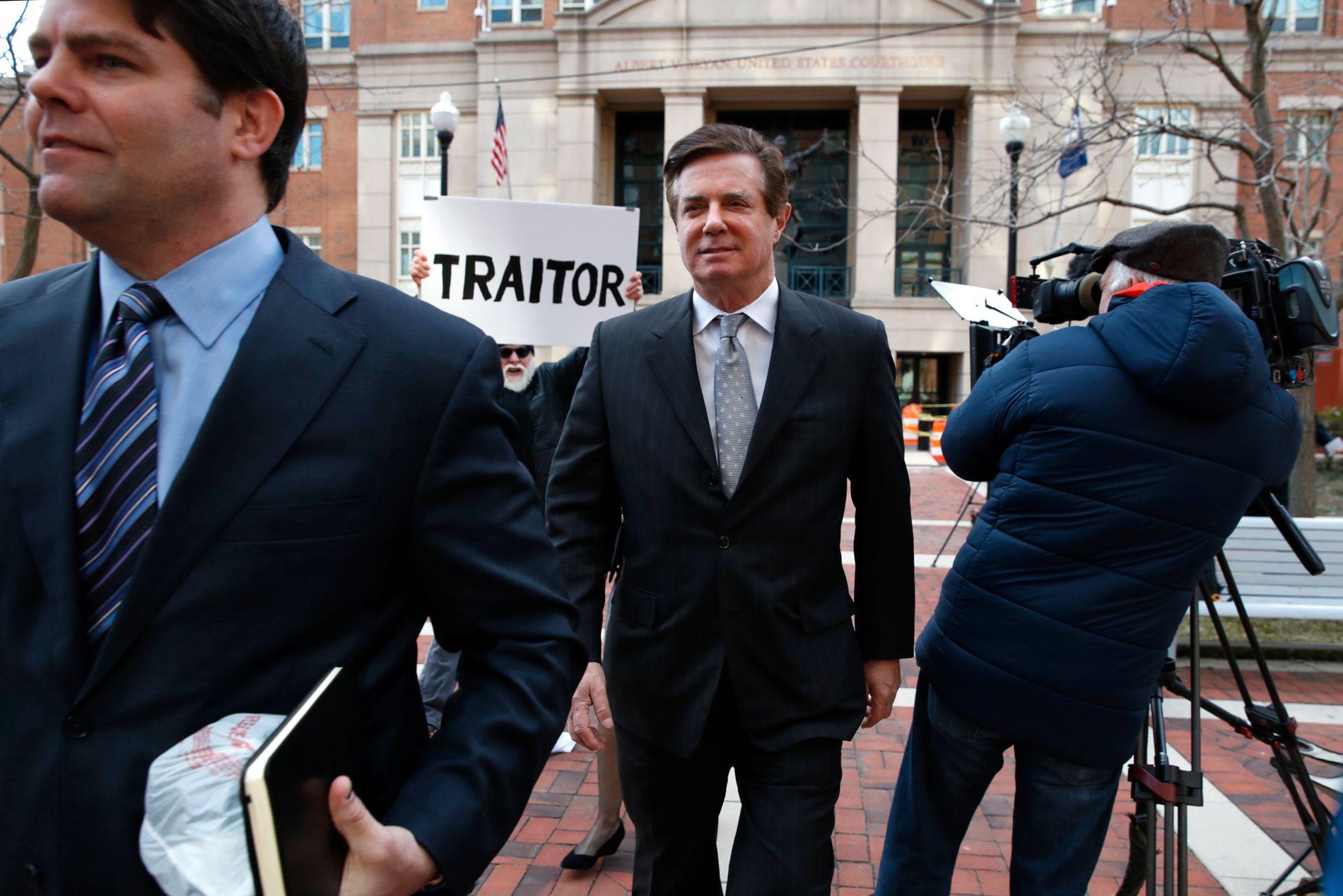 AVTALE: Paul Manafort skal ifølge flere amerikanske medier ha inngått en avtale som blant annet innebærer at han erklærer seg skyldig i forkant av den kommende rettssaken i Washington D.C.