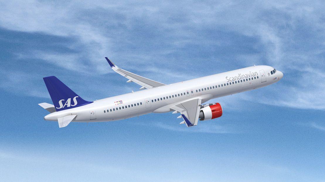 SAS sjefen vurderer å bestille flere mini langdistansefly