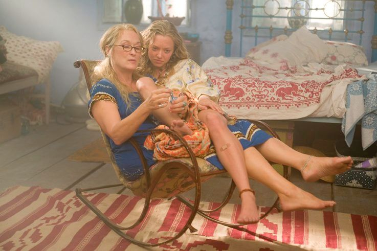 STOR DEL: Skuespiller Amanda Seyfried bekrefter at Meryl Streep er en stor del av sommerens oppfølger-film «Mamma Mia : Here We Go Again»