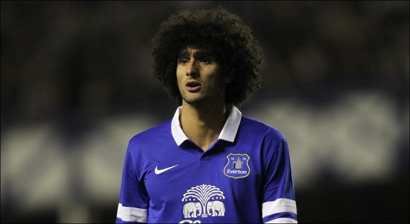 UNITED-KLAR: Marouane Fellaini er klar for Manchester United. Foto: Pa Photos